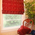 Classic Flat Roman Shades Custom Relaxed Faux Window Curtain, blackout option, roman shade for kitchen, bathroom, bedroom, laundry windows