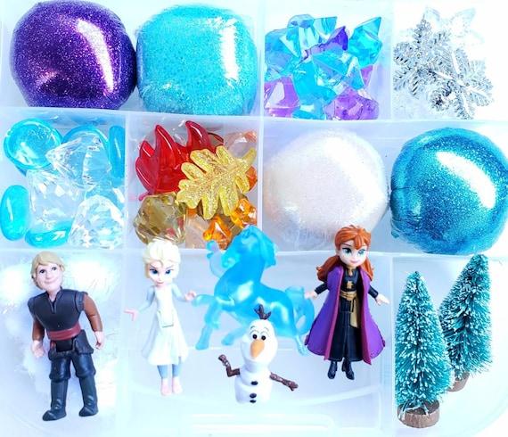 Frozen Sensory Kit Frozen Play Dough Kit Playdough Sensory