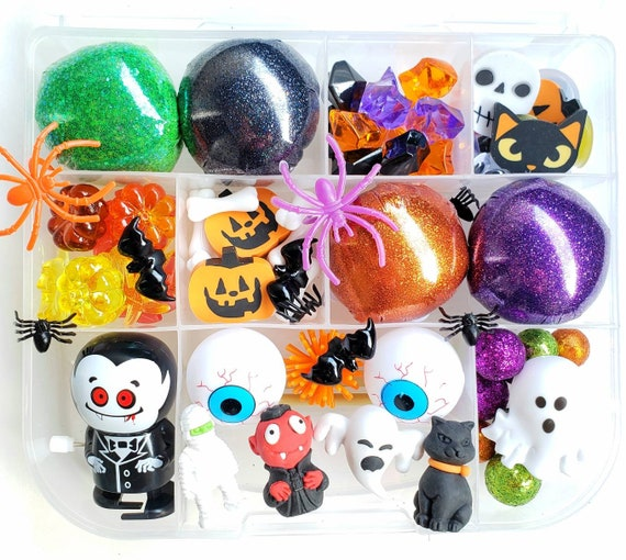 Halloween Play Dough Kit Halloween Sensory Kit Playdough