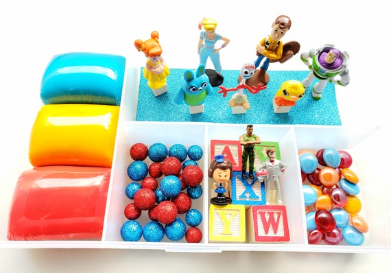 Toy Story Play Dough Kit Playdough Sensory Kit Busy Box