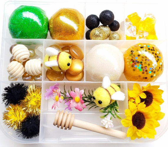 Bee Sensory Kit Playdough Sensory Kit Play Dough Kit