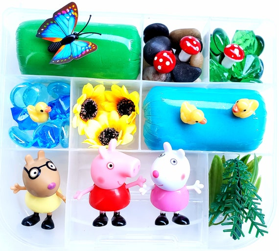 Peppa Pig Playdough Kit Playdough Sensory Kit Sensory Kits
