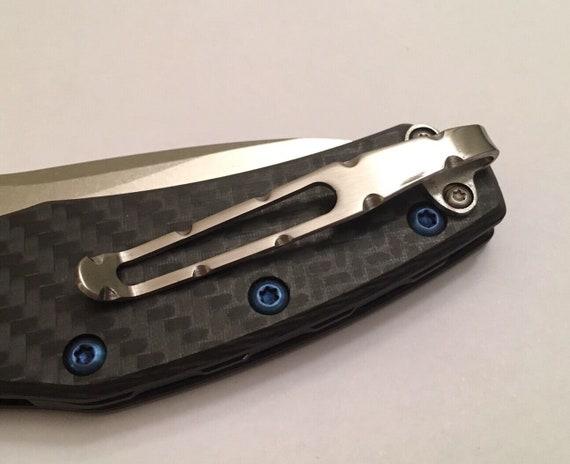 Titanium Pocket Clip Compatible to Zero Tolerance ZT0770 ZT0566 ZT0801 ZT0220