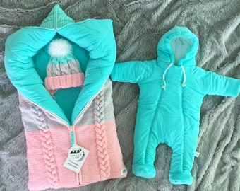 8e5f200de Newborn Winter Overall Baby winter jumpsuit Snowsuit for newborn Winter baby  clothes Hooded jumpsuit infants Warm baby onesie Baby shower