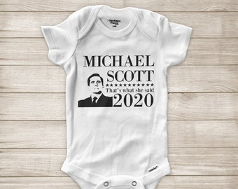 OFFICE US UNOFFICIAL MICHAEL SCOTT THAT/'S WHAT SHE SAID BABY GROW BABYGROW GIFT
