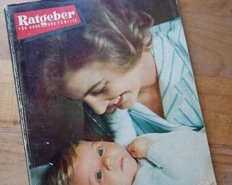 Vintage Zeitschrift, Ratgeber, 60er Jahre
