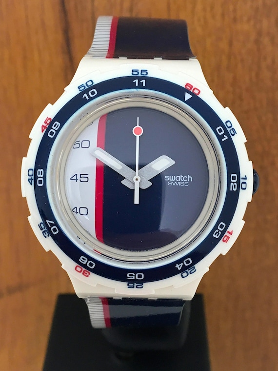 RESERVED for Tommy! Rare Vintage Scuba SWATCH SAIL