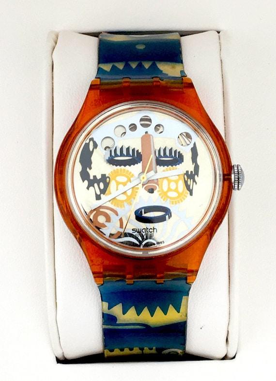 1990s Swatch Acrimbolo SAO100 Automatic Watch, Swa