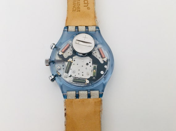 1990s Swatch Fury SCN109  with Box and Papers / V… - image 4