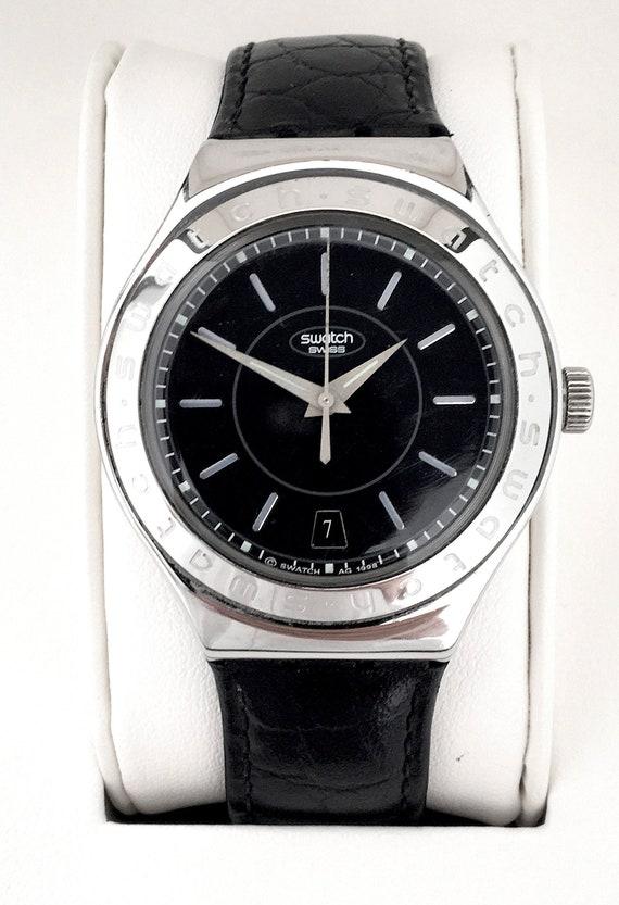 1990s Swatch Irony 'Noir De Noir' Automatic, Swatc