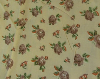 2001 coffee chocolate brown forest green leaf green ecru beige fawn fabric Brown Green Watercolour Effect Fat Quarter hand dyed fabric