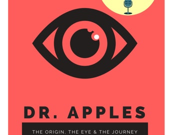 Dr. Apples Novella Fictional Fantasy Book- PODCAST EDITION- PAPERBACK Oddities weird gift