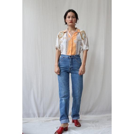The Dream Vintage Jeans High Waisted Straight leg