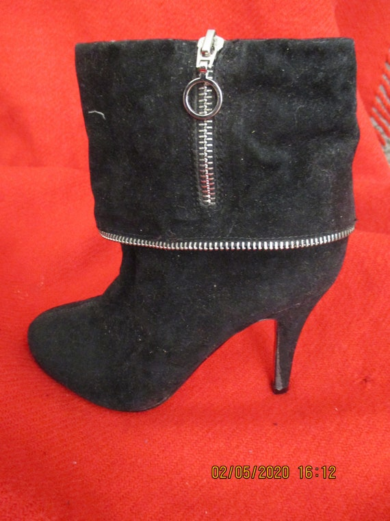Vintage 1990S Christian Louboutin Ankle Boots Siz… - image 6