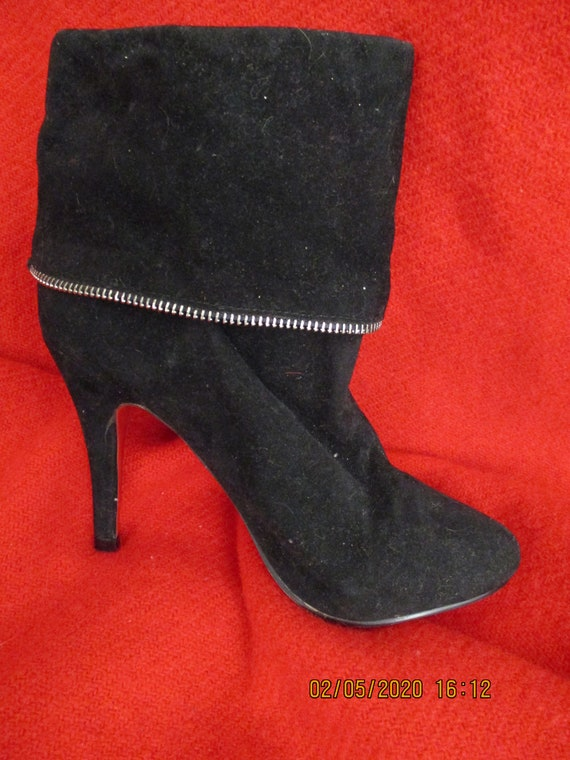 Vintage 1990S Christian Louboutin Ankle Boots Siz… - image 5