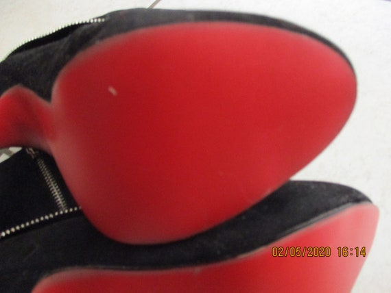 Vintage 1990S Christian Louboutin Ankle Boots Siz… - image 10