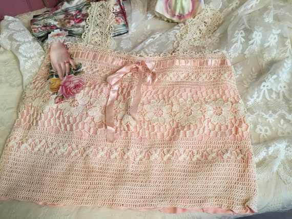 Scrumptious Antique Bridal Camisole-Perfect!