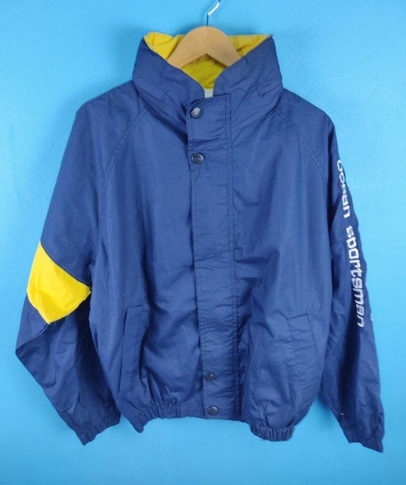 Vintage Nautica Ocean Sportsman Sailing Gear Jacke