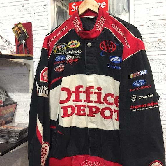 office depot racing jacket Nascar
