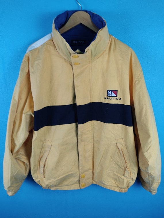 Vintage  Nautica Reversible Sailing Gear Jacket 90