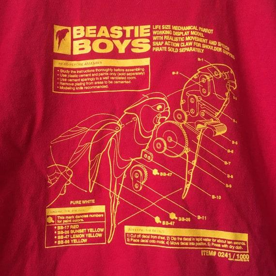 Vintage Beastie Boys parrot T Shirt - image 5