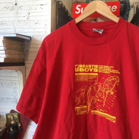 Vintage Beastie Boys parrot T Shirt - image 4