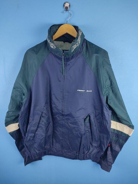 Vintage Perry Ellis Windbreaker Jacket