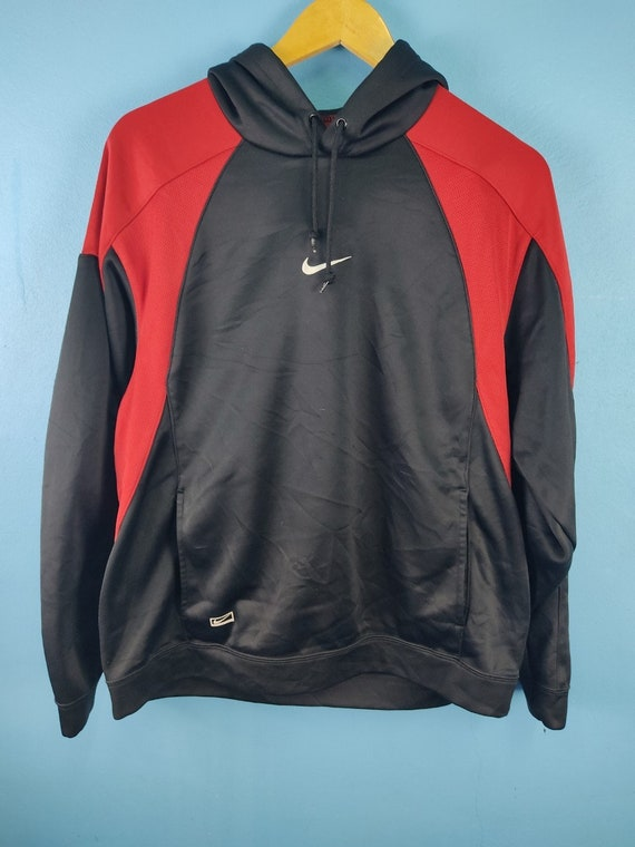 Vintage Nike small Logo hoodie center swoosh