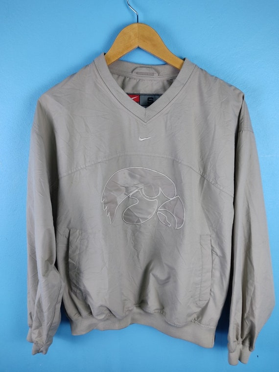 Vintage Nike Iowa V neck Windbreaker Jacket