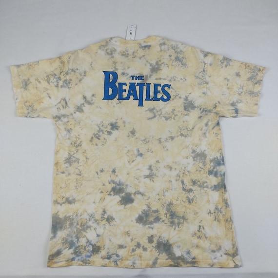 Vintage The Beatles Tie Dye T-shirt 90s - image 2