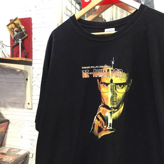 Re-animator horror movie t-shirt, vintage tee shir