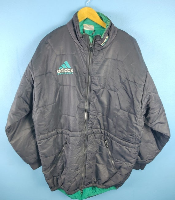 Vintage  Adidas Equipment Puffer Jacket 90s