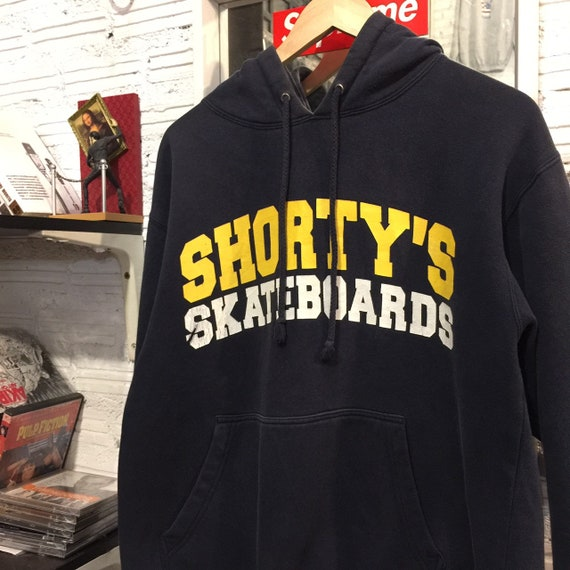 Vintage Shorty's Skateboards Hoodies 90s