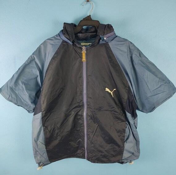 Vintage Puma Big Logo Short sleeves windbreaker Ja