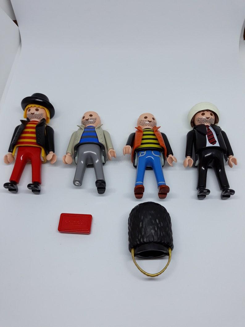 Playmobil Four Action Figures 1990-1996 Job Lot