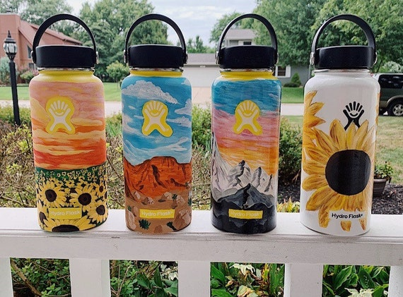 Hand Painted Hydroflask Etsy