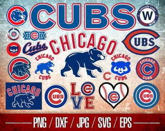 picture regarding Printable Cubs Logo known as Cubs printable Etsy