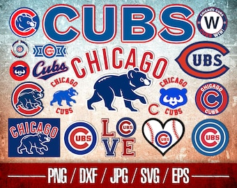 image about Printable Cubs W Flag called Cubs printable Etsy