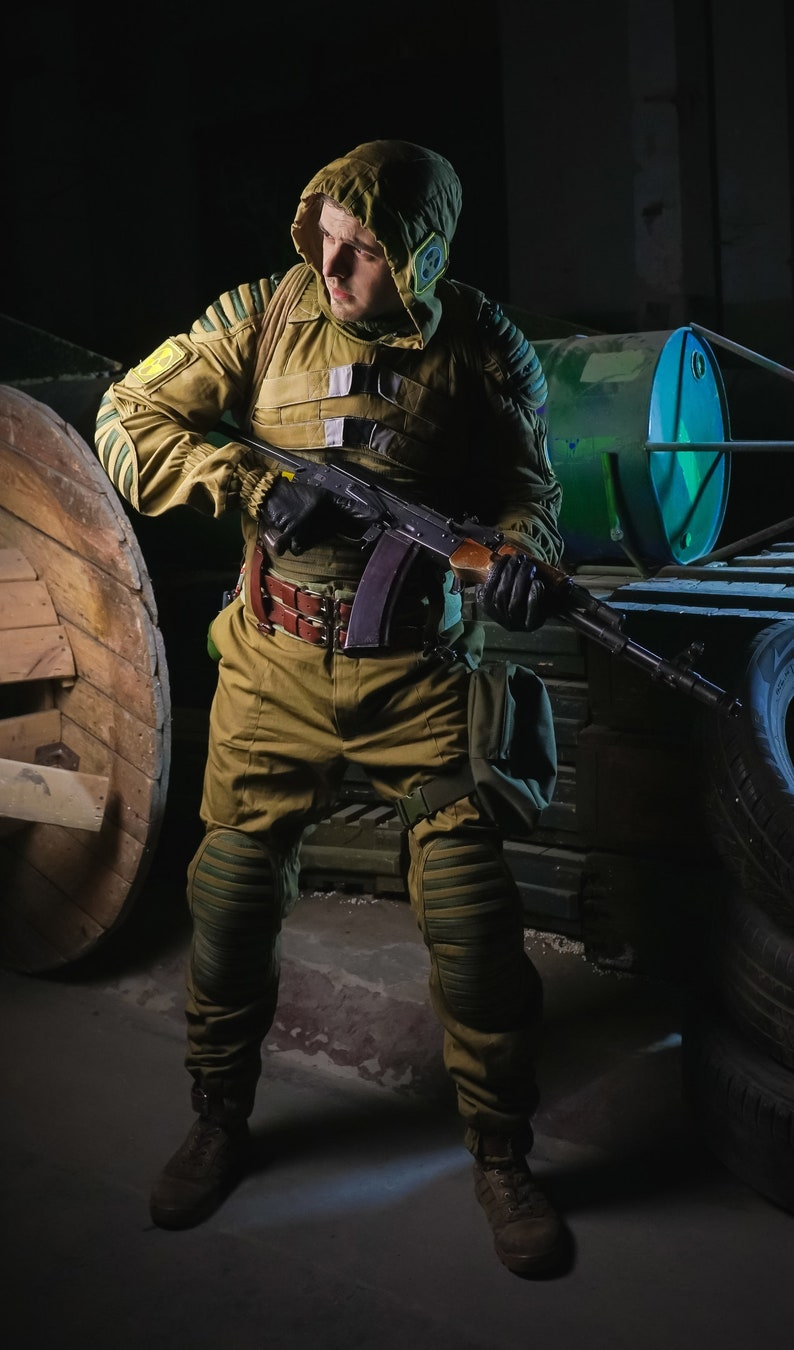 Stalker Metro 2033 Suit Sunrise Women/'s overalls are different from men/'s only cut. Version 2
