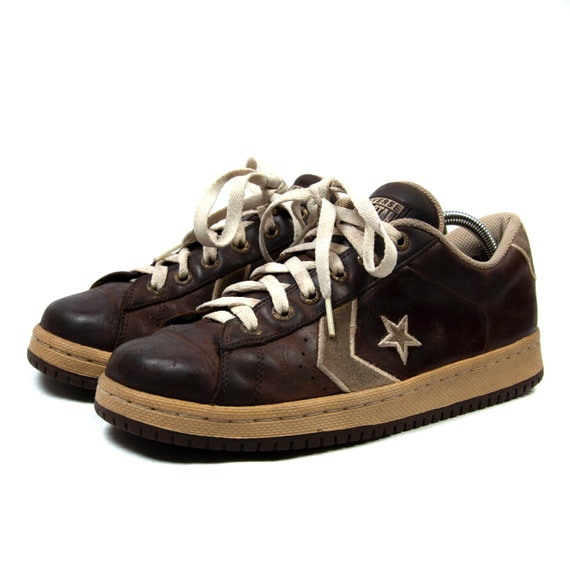 Vintage Converse Retro All Star Sneakers Leather T
