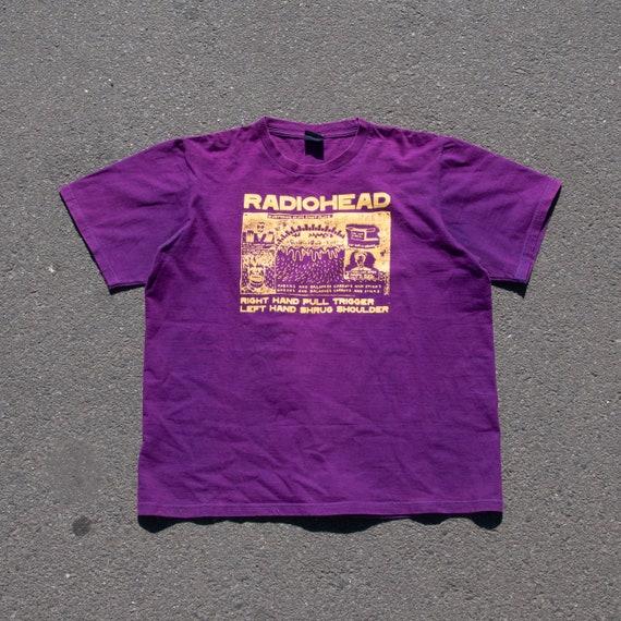 Vintage Radiohead Right Hand Pull Trigger Tee Shir