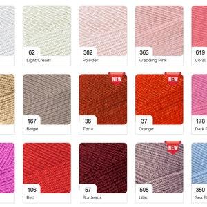 Summer Soft Yarn for Knitting Crochet Dress and Bikini Lingerie Yarn 9 Skeins Alize Bikini Yarn Elastic Swimsuit Yarn Alize Diva Stretch