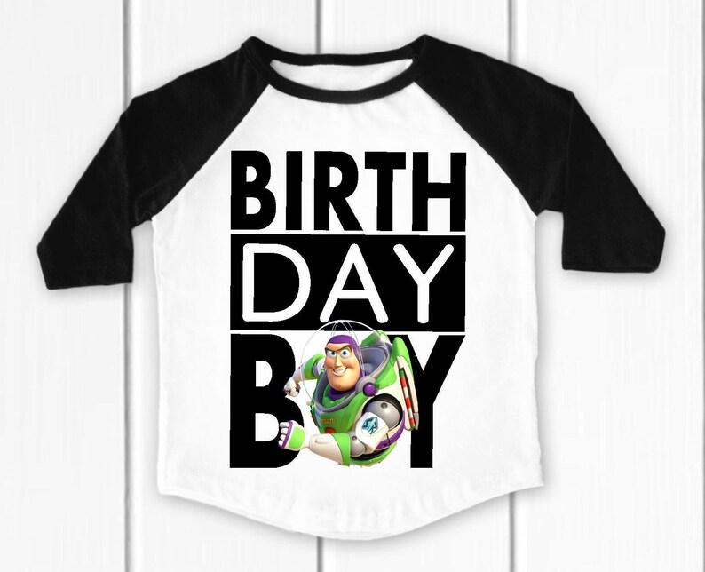 1ab4a206e9d09 Buzz Lightyear birthday shirt, Toy story birthday shirt