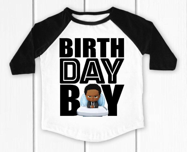 boss baby birthday shirts