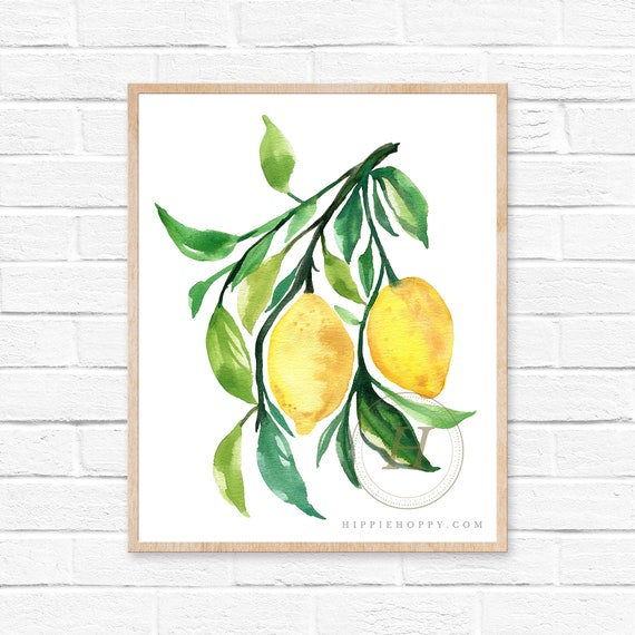 Citrons dArt Collection Kit Tapisserie