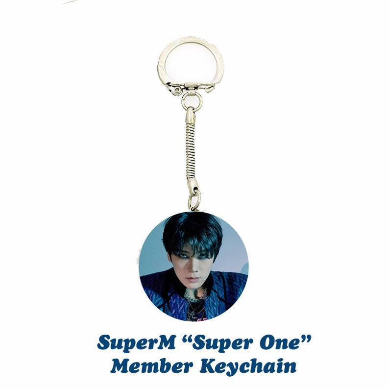 SuperM Super One Member Keychain