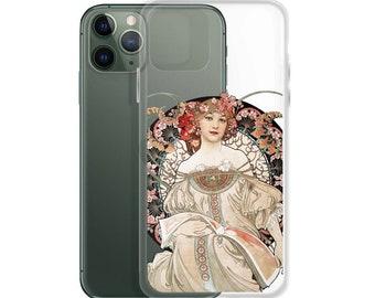 Art Nouveau Rose Gold iPhone 11 case