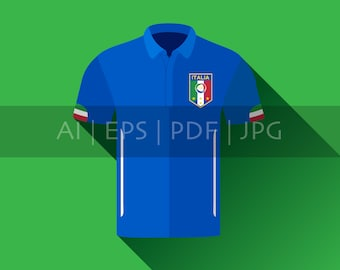 lowest price 6f170 3050d Italian team jersey | Etsy