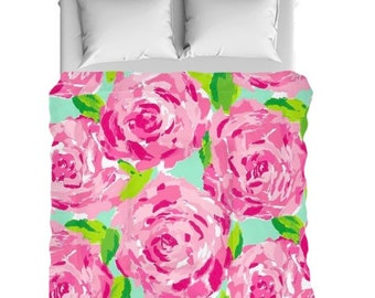Lilly Pulitzer Duvet Cover Etsy