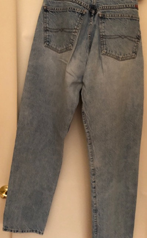 Vintage Women/'s Blue Jeans Light Blue Lucky Brand Dungarees Boyfriend Jeans